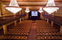 Auditorium panorama in St. Anthony's Hotel in San Antonio Texas